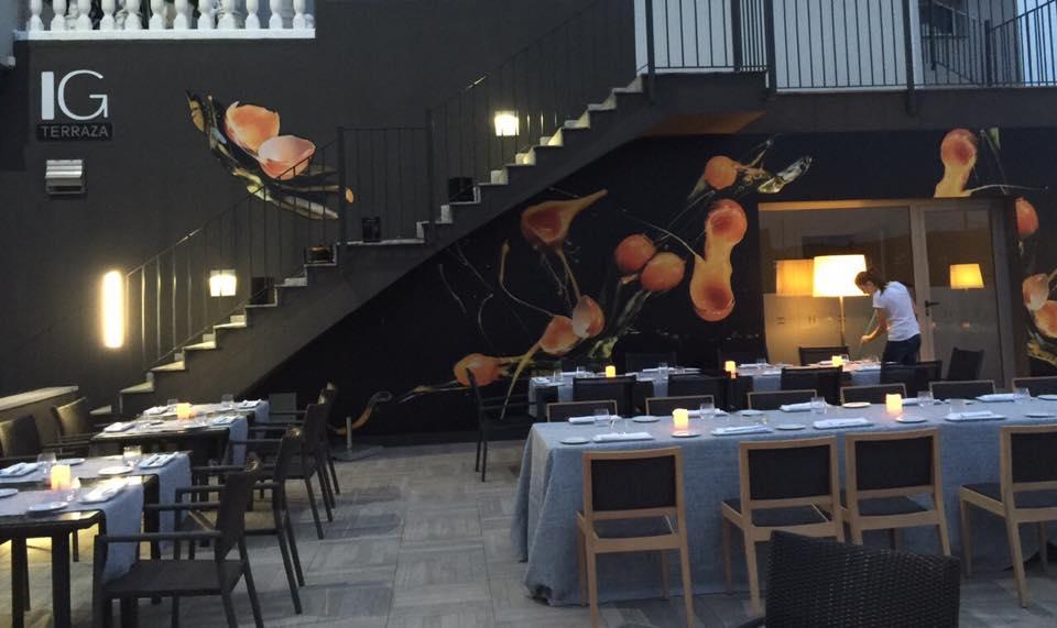 Terraza Restaurante Insigne